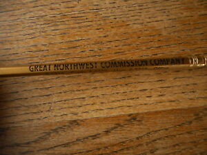 Pencil Sioux City Stockyards Great Northwest Commission Co Cattle Hogs Pigs Iowa