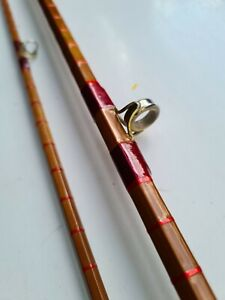 """Olivers of Knebworth 8.9 """" 2 piece trout fly rod mint."""
