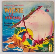 Wickie le Vicking 45 tours Livre-Disque 1979