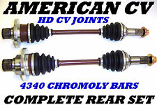 2003 2004 2005 YAMAHA GRIZZLY 660 COMPLETE HEAVY DUTY REAR ATV CV JOINT AXLE SET