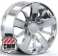 "20x9"" OE Performance 153C Chevy Silverado High Country 2014 Chrome Wheels Rims"