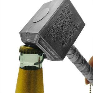 1pc Beer Bottle Openers Hammer Of Thor Shaped Beer Handle Bottler Opener Bee Ao