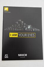 Nikon Nikkor Objektive  - Prospekt - Katalog ---- Neu - 2014