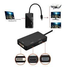Thunderbolt Mini Display Port DP to VGA HDMI DVI Adapter For Macbook Pro Air Mac