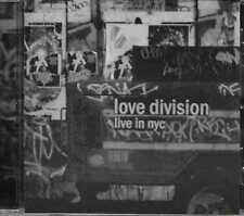 Love Division - Live In Nyc CD 2007