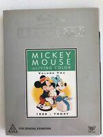 Walt Disney Treasures DVD Mickey Mouse in Living Colour, Volume 2 -(1939-2004 )