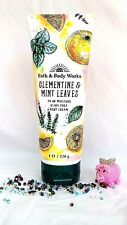 Bath and Body Works CLEMENTINE & MINT LEAVES Ultra Shea Body Cream  226g *NEW*