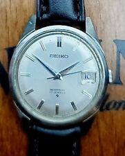 VINTAGE SEIKO 6602-8050 MECHANICAL 17 Jewels Stainless Steel Men's Japan Watch