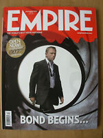 EMPIRE FILM MAGAZINE No 210 DECEMBER 2006 DANIEL CRAIG 007 JAMES BOND COVER