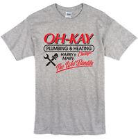 Home Alone Inspired Oh Kay Plumbing T-shirt Retro 90s Christmas Kids Film Movie