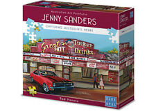 NEW Blue Opal Jigsaw Puzzles Deluxe 1000 Piece RED MONARO by Jenny Sanders