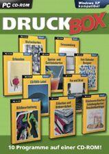 DRUCK BOX - über 500.000 Vorlagen - 10 Werkzeuge in einem Paket - PC - NEU & OVP