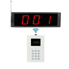 Hot Wireless Service Calling Paging System with Receiver Host & Keyboard Pager