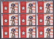 (9) 2012 TOPPS OLYMPIC DOTSIE BAUSCH HUGE RELIC CARD LOT ~ CYCLING GREAT