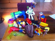 Random Baby Kiddie Toys Bundle Preschool Buzz Bob the Builder Space Guns