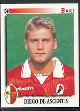 Panini calciatori football 1997 sticker, nº 36, bari-diego de ASCENTIS