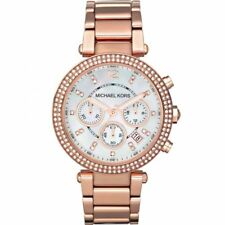 New Michael Kors MK5491 Ladies Parker 39mm Rose Gold Chronograph Designer Watch