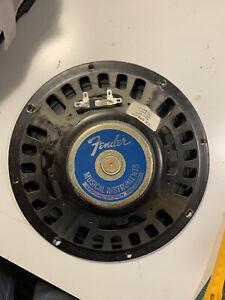"""Vintage 1974 Fender Oxford Amplifier Speaker 8 ohms 10"""" for Princeton"""