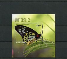 Micronesia 2014 MNH Butterflies 1v S/S Insects Butterfly Richmond Birdwing