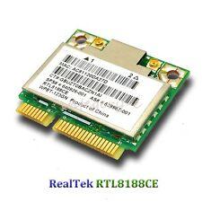 RealTek RTL8188CE Half Mini PCIe Wireless Wlan Card for HP 802.11 b/g/n 2.4GHz
