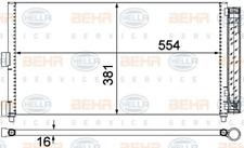 Kondensator, Klimaanlage für Klimaanlage HELLA 8FC 351 301-714