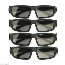 4PCS IMAX Glasses Passive Polarized 3D Glasses for RealD Cinema Samsung FPR TV