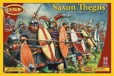 SAXON THEGNS BOX SET  28MM HARD PLASTIC FIGURES - NEW GRIPPING BEAST RANGE