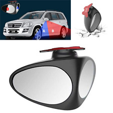 360°Car Rearview Blind Spot Mirror Convex Wide Angle Car Blind Spot Mirror Black