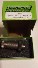 75106 Redding Body Sizing Die - 22-250 Remington - New In Box - Free Shipping
