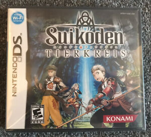 Suikoden Tierkreis Nintendo DS (New & Sealed) Rare
