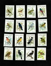 VINTAGE CLASSICS - Malawi - Birds - Definitive - Set of 16 Stamps - MNH