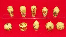 Série complète fèves Jolies porcelaines 3401