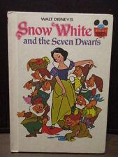Vintage Children's Hard Cover Book - Walt Disney's - Snow White & the 7 Dwarfs