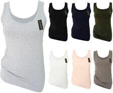 Figurbetonte Damenblusen, - tops & -shirts mit Rundhals-Ausschnitt in Größe 32GB