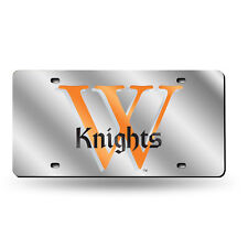 Wartburg College Knights NCAA Mirrored Laser Cut License Plate Laser Tag