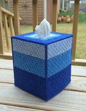 Demim Blue Tissue Cover handmade Boutique size