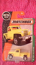 Matchbox (Etats-Unis Carte) - 2016 - #116 JEEP WILLYS 4x4-Jaune