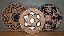 wicker wall baskets, wall decor, wicker plates, boho african basket