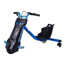 Beeper Drift Trike 12V 6,5Ah 100W Tricycle Électrique 360° pour Enfants - Bleu (RDT100-B)