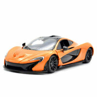 1:24 Mclaren P1 Sports Car Diecast Vehicle Model Car Collection Gift Orange