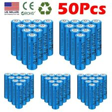 Lot Ultrafire 18*650 Battery 3.7V Li-ion Rechargeable Batteries for LED Torch US