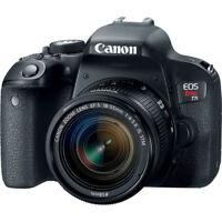 Canon EOS Rebel T7i Digital SLR Camera with 18-55mm Lens