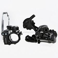 SRAM X4 Bike Set Front & Rear Derailleur Black 3x8S