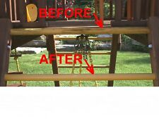 Swing Set Playscape Plastic Renewer Restores Swings, Slides, and Plastics