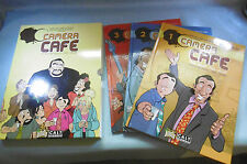 camera café BD 3 volumes ( édition rare )