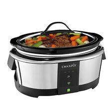 Crock-Pot Smart Wifi-Enabled WeMo 6-Quart Slow Cooker, SCCPWM600-V1 , New, Free
