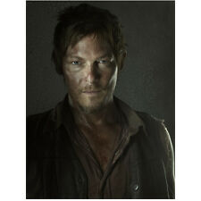 Norman Reedus in The Walking Dead as Daryl with Blood Spatter 8 x 10 Inch Photo