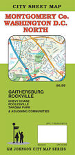 City Street Map of Montgomery Co., Maryland & Washington DC, North, by GMJ Maps
