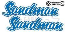 Holden HQ - HJ -  SANDMAN LIGHT BLUE XX Large Decal  - Stickers