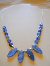 """Kyanite Sterling Silver Necklace - 20"""" w/2"""" extension"""